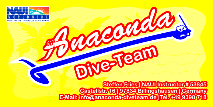 Anaconda Dive Team Steffen Fries